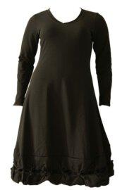 Boris Industries jurk knoopjes lm div kleuren t/m maat 48/50