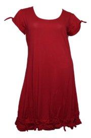 Boris Industries jurk knoopje km div kleuren tot maat 48/50