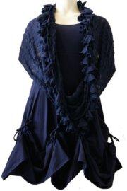 Boris Industries jurk ophaal div kleuren t/m maat 50